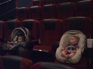 These Babies Are Already Wondering what's going to happen next weekend at the Box Office!