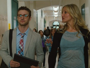 Timberlake played Scott Delacorte opposite Cameron Diaz in hilarious comedy Bad Teacher!