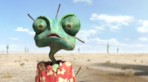 Johnny Depp Was Rango....!