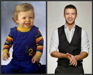 Justin Timberlake as a baby....so cuuuuute!!!!