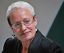 Johanna Sinisalo: award-winning Finnish science-fiction writer.