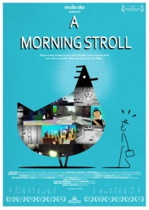 A Morning Stroll is also nominated for an Oscar...!