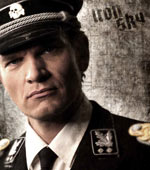 Götz Otto is Klaus Adler: famous for his portrayal as Mr. Stamper in the 1997 James Bond film Tomorrow Never Dies.