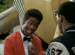Chris Rock Opposite Eddie Murphy in Beverly Hills Cop II!