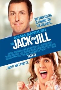 Jack and Jill also stars Al Pacino and Katie Holmes!