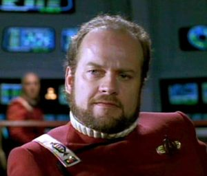 Kelsey Grammer appeared on Star Trek!