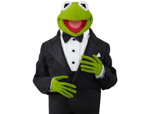 Doesn't Kermit Look Dapper?