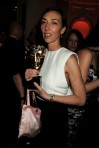 Martina Amati with her first BAFTA back in 2010