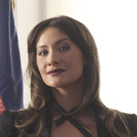 Peta Sergeant is Vivian Wagner: Australian, and former TV actress.