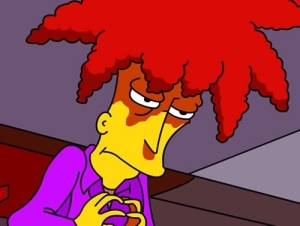 Kelsey Famously Voices Sideshow Bob in The Simpsons