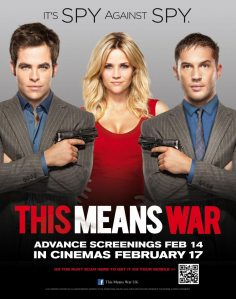 This Means War is Released in the UK on the 2 March 2012