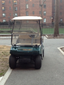 The golf cart is a must for all production companies....!