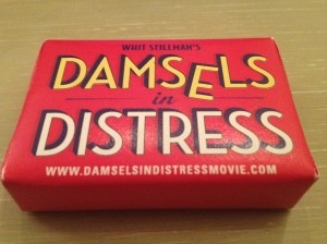 They handed me a bar of soap before the screening....lovely thought!